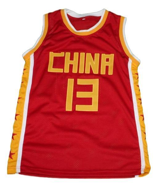Yao ming team china jersey red 1