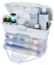 Blenders (Countertop) ArtBin Solutions Cabinet White Craft Storage 6994AB - $41.03