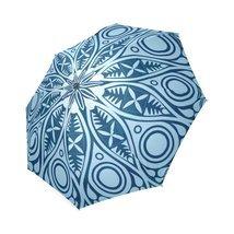Mandala Lace Ornamental Pattern Foldable Umbrella 8 ribs (Mandala #4) - $23.75