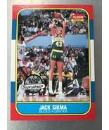 1986-87 Fleer #102 Jack Sikma Seattle Supersonics Milwaukee Bucks Card - $3.47