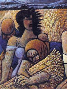 GROMAIRE 1942 GRAVURE PRINT w/COA history £ MAGNIFICENT Marcel Gromaire RARE ART