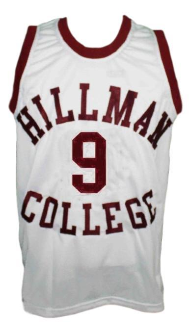 A different world dwayne wayne hillman college custom basketball jersey white   1