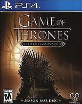 Game of Thrones: A Telltale Games Series PS4 [New] Playstation 4 - $19.46