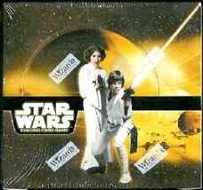 Star Wars TCG Cards New Hope - Box 12 Theme Decks - $37.00