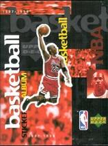 NBA Basketball 1997-1998 Upper Deck Empty Album - $5.00