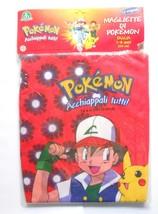 Pokemon Red T-Shirt Flowers Pikachu 7-8 years - $6.00