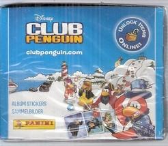 Club Penguin Box 50 Packs Stickers Panini Disney - $20.00