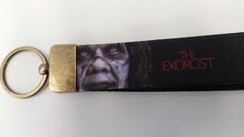 Exorcist Movie Keychain with Antique gold hardware and matching split ke... - $7.91