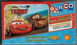 Cars Securite Routiere Disney Box 100 Packs Stickers Panini Shell - $36.00