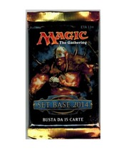 Magic The Gathering Set Base 2014 Booster Pack Wizards - $3.00