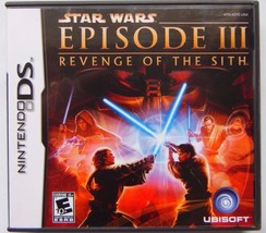 Star Wars Episode III 3 Revenge of the Sith Nintendo DS Video Game Complete - $16.01