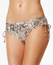 NEW Calvin Klein Snake-Print Side-Tie Swim Bikini Bottoms M Medium $68 C... - $14.25