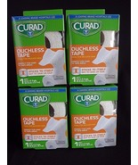 """Curad Ouchless Tape, 2"""" Width x 2.3 Yds. each roll  Total of 4 ROLLS - $12.69"""