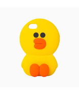 LINE Friends Mega SALLY Silicone Case 7/7Plus iPhone Cover Mobile Skin C... - $40.19+
