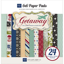 """Echo Park Double-Sided Paper Pad 6""""X6"""" 24/Pk... - $22.36"