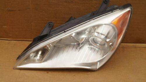 10-12 Hyundai Genesis Coupe Headlight Head Light Halogen Driver Left LH
