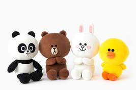 "LINE Friends Season 4 Doll 28cm(11"") 4Types Plush Toys Stuffed Animals *... - $51.98"