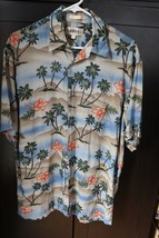 MENS CAMPIA MODA HAWAIIAN  SHORT SLEEVE SHIRT SIZE M - $7.69