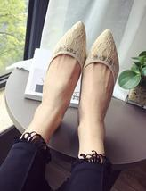 Black Lace Wedding Shoes,Black Wedding Shoes for Bridal,Black lace flats shoes image 3