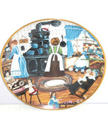 Home Made Sweets Kids Old Stove Collector Plate Franklin Mint COA Karyn Bell - $59.95
