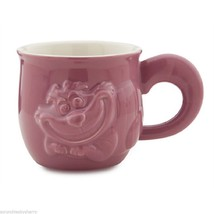 Disney Store Cheshire Cat Figural Coffee Cup Mug Mauve Ceramic New  2014 - €58,30 EUR
