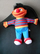 "SESAME STREET 10"" TALL HASBRO PLUSH ERNIE DOLL VGC CUTE - $8.59"