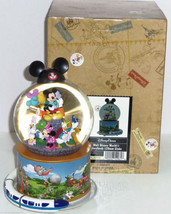 Disney Storybook Mickey Minnie Musical Snowglob... - $59.97