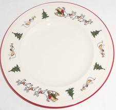 Wedgwood Windsor Christmas Dessert Plate China England Santa Tree Lot of 3 - $99.95