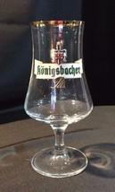 Konigsbacher Pils Advertising German Beer Glass... - $23.38