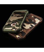 Armor Anti-Skidding Camouflage TPU+PC Back Case Cover for iPhone 7 Plus - $7.90