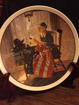 Knowles Collector Plate  Norman Rockwell Mother... - $14.85