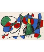MIRO ORIGINAL LITHOGRAPH 8 VIII with COA Joan Miró litógrafo print gift ... - $271.98