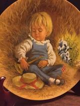 "Decorative Plate John McClelland ""Little Boy Blue"" Plate # 10780F  - $21.78"