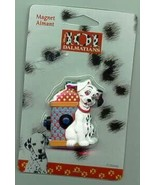Disney 101 Dalmatians puppy dog with fire hydrant Magnet Aimant MOC - $18.29