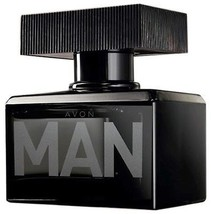 Avon MAN EDT Eau de Toilette Spray for Him 2.5 fl.oz 75 ml New Rare - $19.98