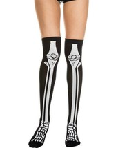 Black/White Skeleton Stocking - $10.88