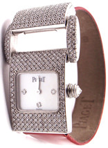 Authentic! Piaget Miss Protocole 18k White Gold... - $11,950.00