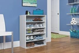 Home Organization Closet Organizer ClosetMaid 1565 Stackable 5Shelf White - $59.85