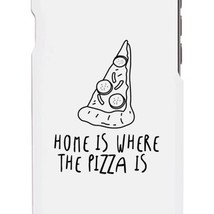 Home Where Pizza White Ultra Slim Phone Cases For Apple, Samsung Galaxy, LG, HTC - $9.99