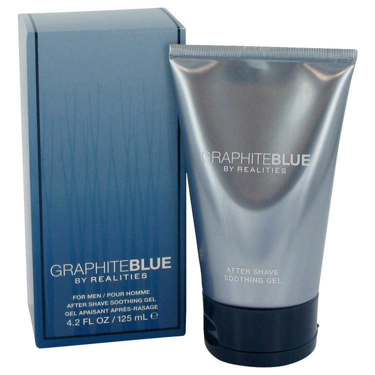 Realities Graphite Blue by Liz Claiborne After Shave Soother Gel 4.2 oz