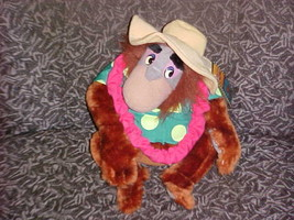 """10"""" Disney King Louie Plush Toy From Tailspin With Tags & Outfit - $140.24"""