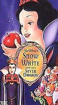 Snow White and the Seven Dwarfs (VHS, 2001, Cla... - $7.99