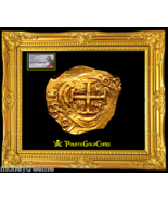"""COLOMBIA 1699 """"FULLY DATED!"""" 2 ESCUDOS """"1715 FLEET"""" NGC 63 GOLD COB DOUB... - $12,500.00"""