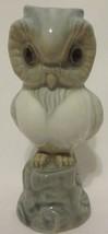 Valencia Porcelain Owl Bird Figure Statue Made ... - $24.72
