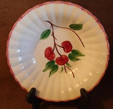 Blue Ridge Southern Potteries Cherry Bounce Round Vegetable Serving Bowl 9 1/2""