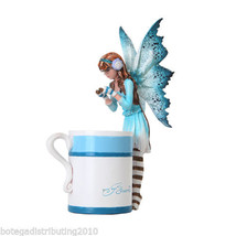 Amy Brown Hot Cocoa Faery Fantasy Art Statue Hot Chocolate Cup Figurine - $24.99