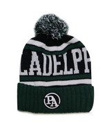 Philadelphia Black Patch Men's City Hunter Winter Knit Beanie Toboggan H... - $11.95