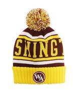 Washington Burgundy Patch Men's City Hunter Winter Knit Beanie Toboggan ... - $11.95