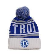 Detroit Light Blue Patch Men's City Hunter Winter Knit Beanie Toboggan H... - $11.95