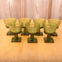7 Green Park Lane Pattern Indiana Glass Company... - $46.74
